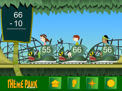 theme park math